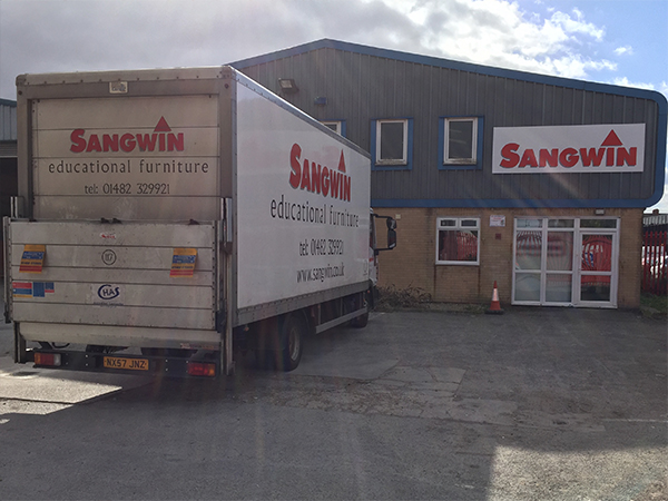 New Warehouse Facility for Sangwin Educational Furniture