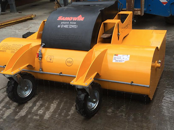 Sangwin Plant Hire Add New Sweeper Attachment to Fleet