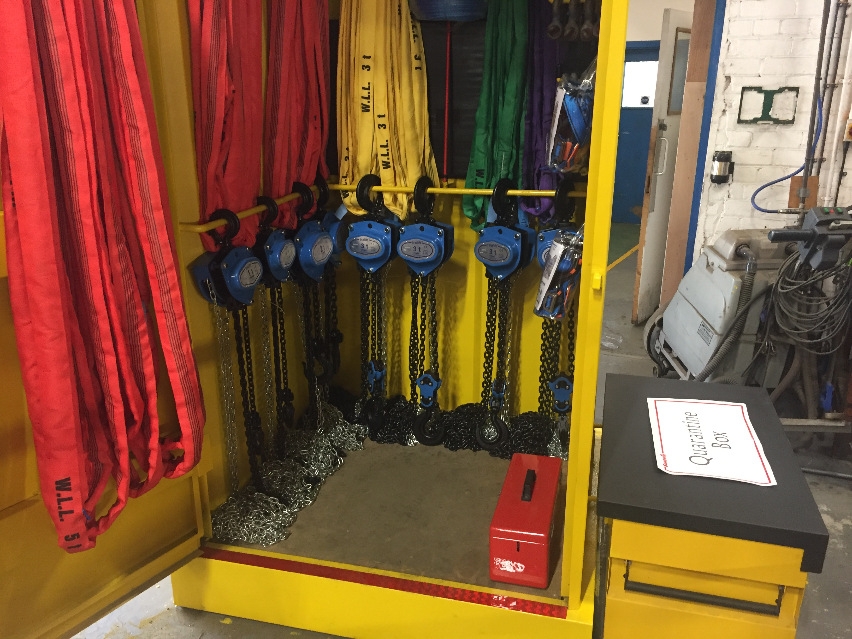 Sangwin Plant Hire Invest in New Rigging Equipment