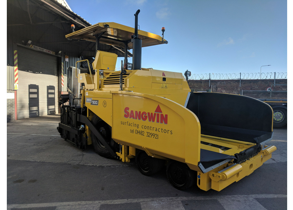 New Machinery Investments for Sangwin Plant Hire & Sangwin Surfacing