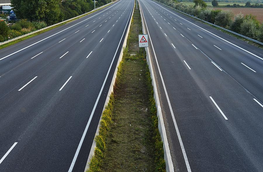 M6 Motorway Fully Closed For Weekend Repairs