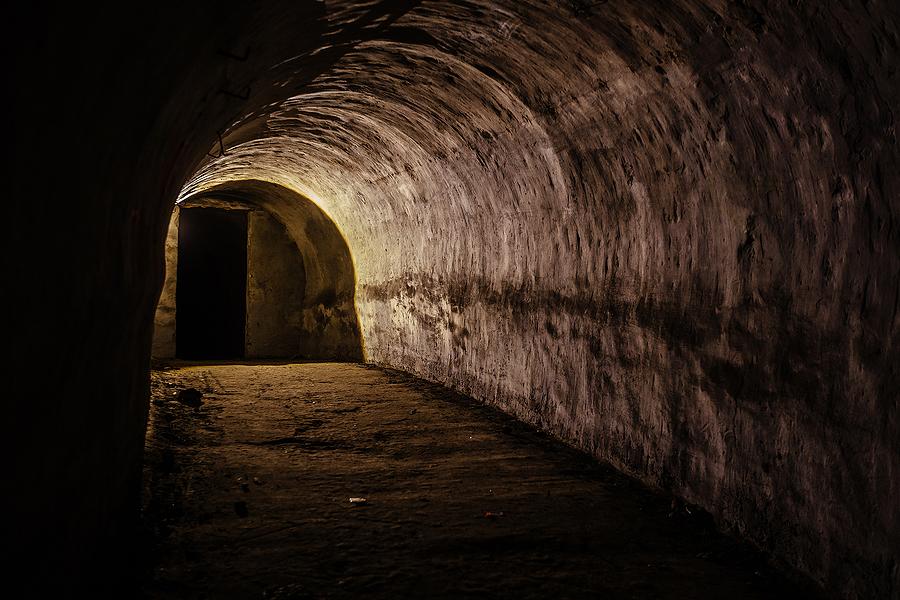 Secret Medieval Tunnel Found Under Welsh Footpath